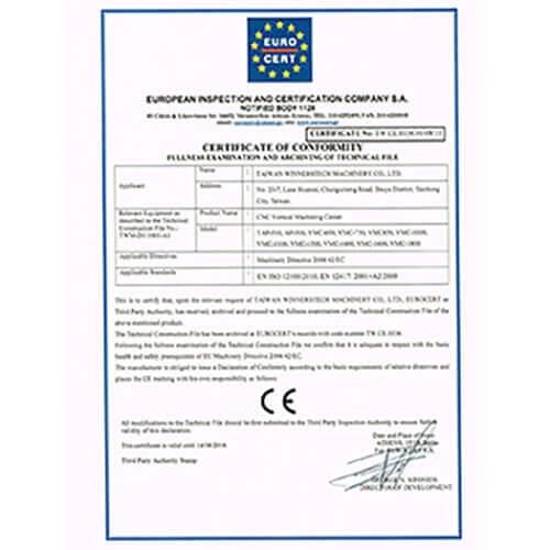 13) CE Certified